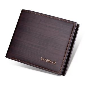 Dark Brown Vegan Wallet